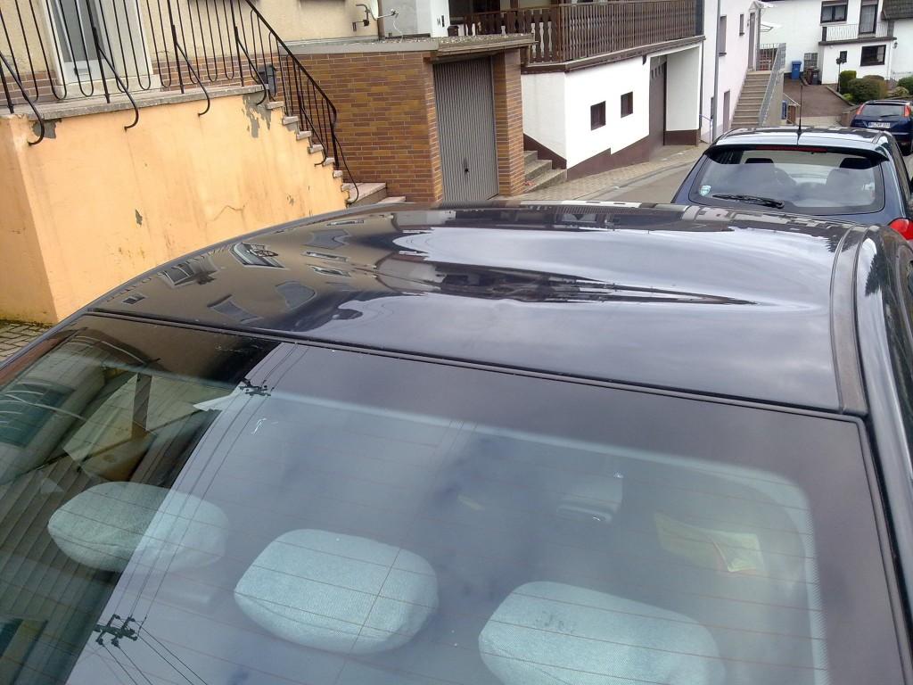 Schaden durch Dachlawine